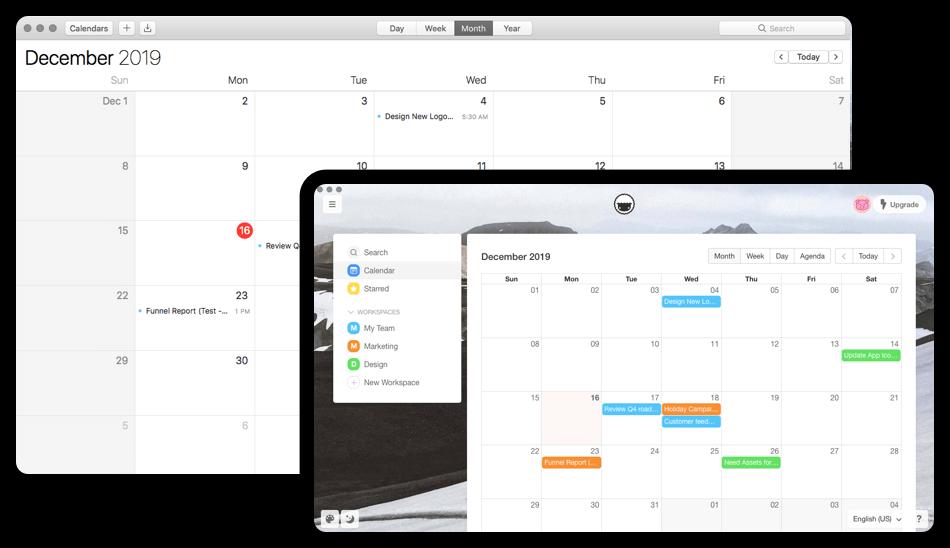 Taskade Team Calendar for Task Management