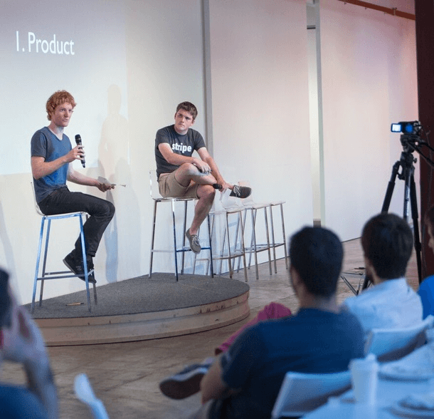 stripe presenting at yc