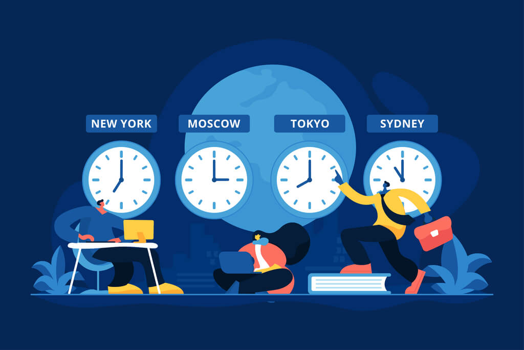 workplace camaraderie across time zones
